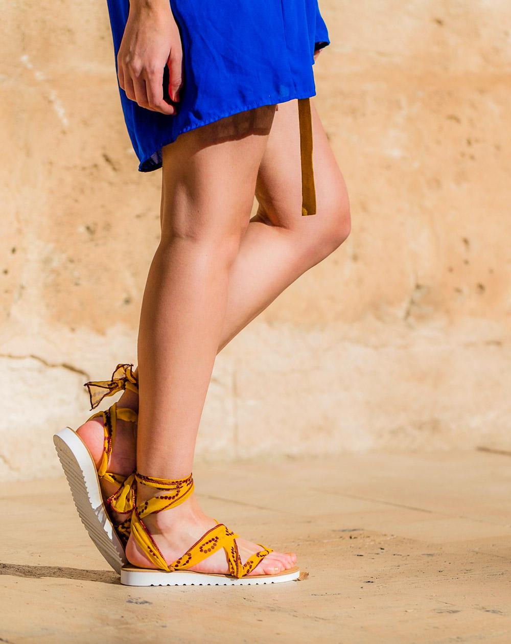 lint sandales a rubans lint sandalen ribbon sandals 6