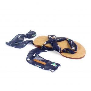 raramuri sandals blue parrot cancun ribbon sandal
