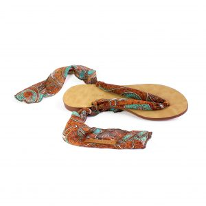 raramuri sandals rusty curls tulum ribbon sandal