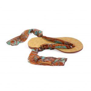 raramuri sandals rusty curls tulum ribbon sandal